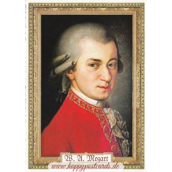 Mozart - Tausendschön - Postcard