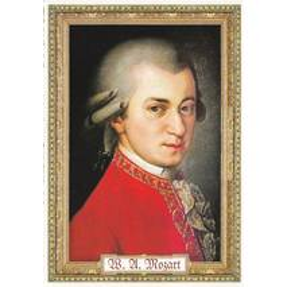 W. A. Mozart - Tausendschön - Postkarte