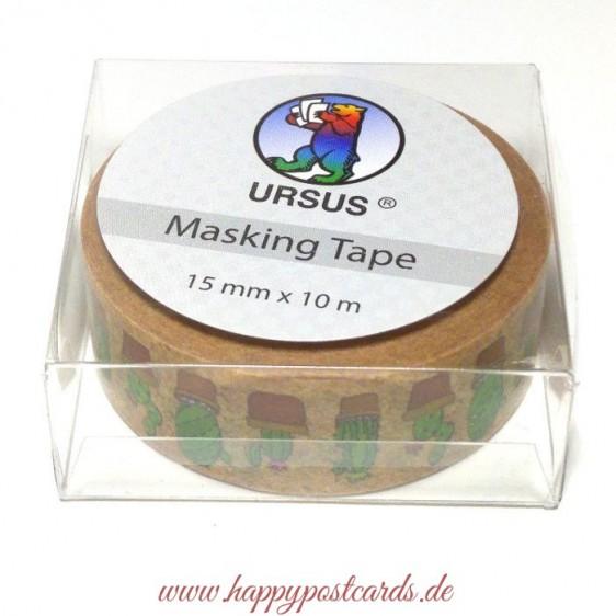 Cactuses - Washi Tape - Masking Tape