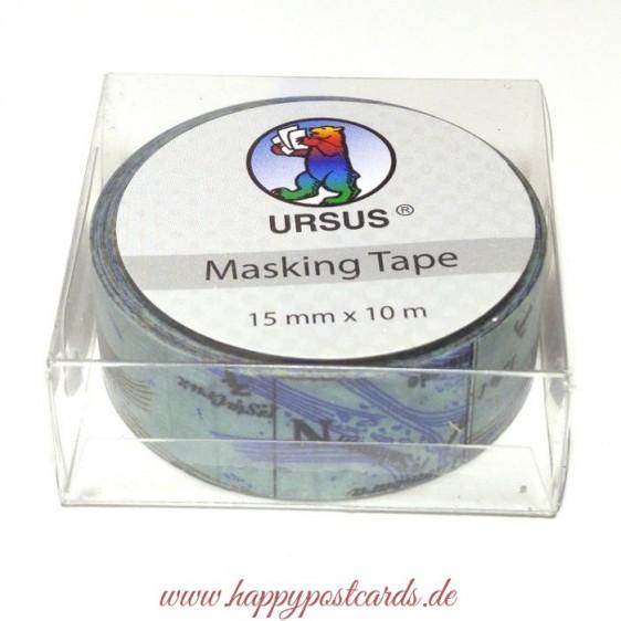 Map 6 - Washi Tape - Masking Tape