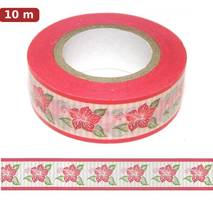 Hibiscus - Washi Tape - Masking Tape