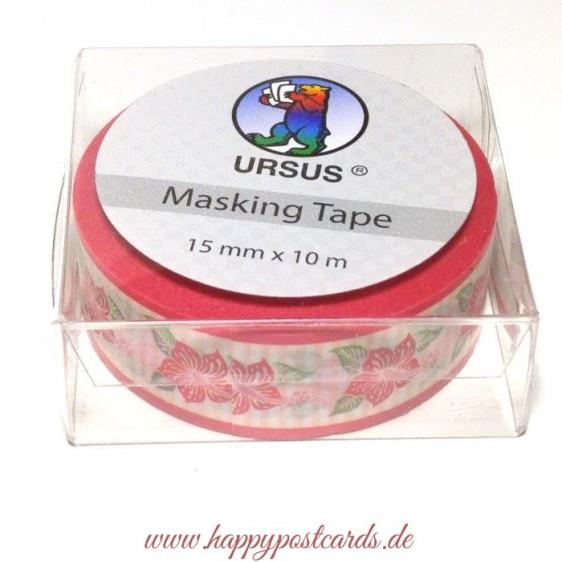 Hibiskusblüte - Washi Tape - Masking Tape