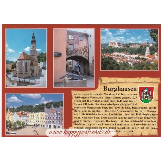 Burghausen - Chronicle - Viewcard
