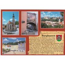 Burghausen - Chronikkarte