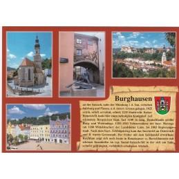 Burghausen - Chronikkarte