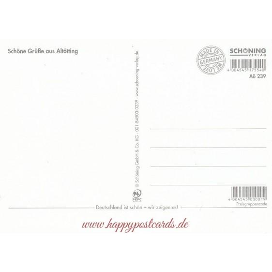 Altötting - Chronikkarte
