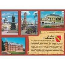 Castle Karlsruhe - Chronicle - Viewcard