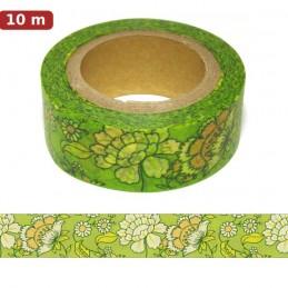 Blumenbordüre 3 Washi Tape - Masking Tape