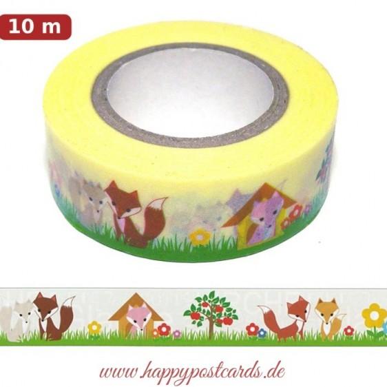 Fuchs 2 - Washi Tape - Masking Tape