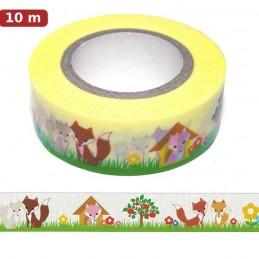 Fox 2 - Washi Tape - Masking Tape