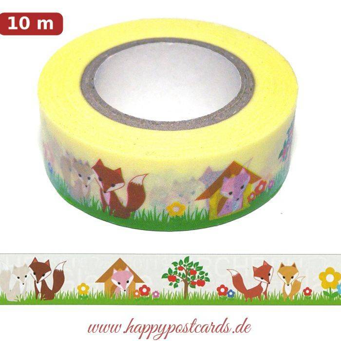 washi tape fuchs 2 washi tape masking tape ursus. Black Bedroom Furniture Sets. Home Design Ideas