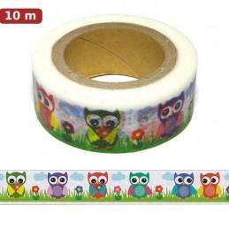Owl Washi Tape - Masking Tape