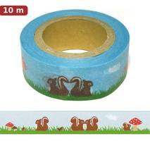 Squirrels Washi Tape - Masking Tape