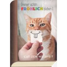 CatZen Smile - BookCARD