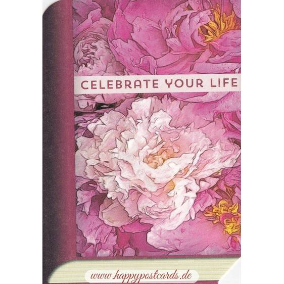 Celebrate Your Life - BookCARD