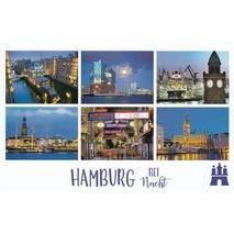Hamburg at night - HotSpot-Card