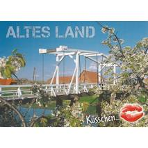Kiss Altes Land - Postcard