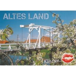 Kiss Altes Land - Postcard