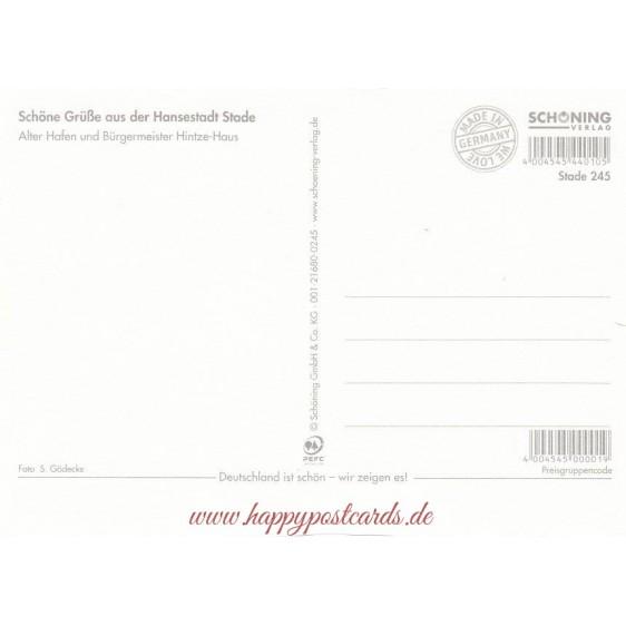 Stade Stampborder - Postcard