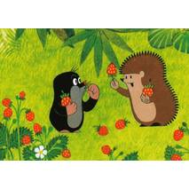 The Mole and Hedgehog with Strawberries
