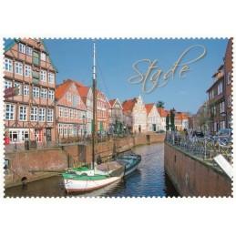Stade Briefmarkenrand - Postkarte