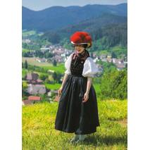 Traditional Costumes - Black Forest 2 - Viewcard
