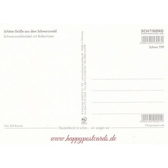 Trachten Schwarzwald 3 - Ansichtskarte