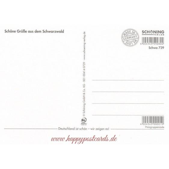 I love Schwarzwald 2 - Ansichtskarte