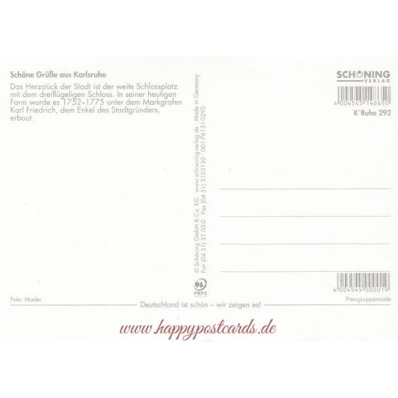 Karlsruhe Castle - Viewcard