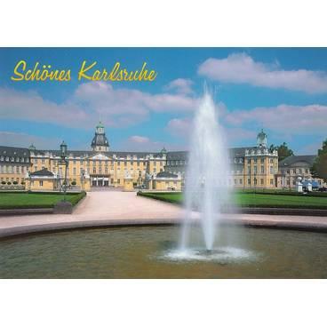 Karlsruhe Schloss - Ansichtskarte