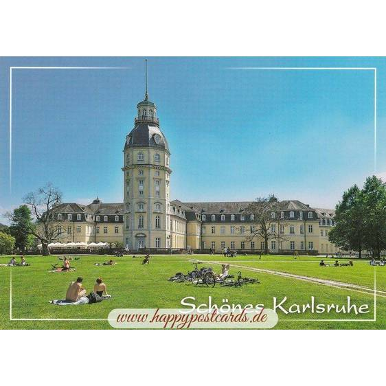 Karlsruhe Castle 2 - Viewcard