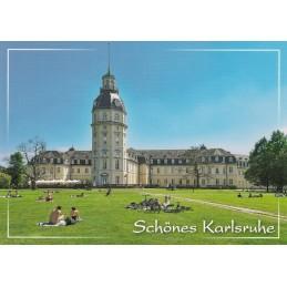 Karlsruhe Schloss 2 - Ansichtskarte