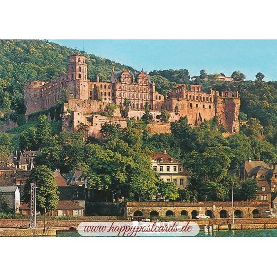 Heidelberg Castle - Viewcard