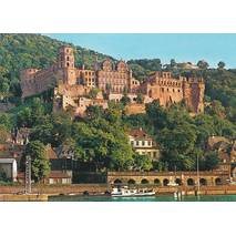 Heidelberg Schloss - Ansichtskarte