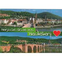 Heidelberg Greetings - Viewcard