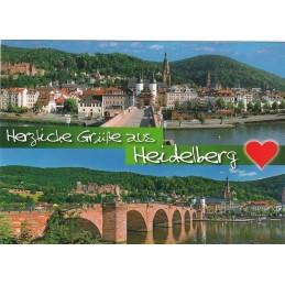 Heidelberg Grüße - Ansichtskarte