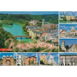 Wasserburg am Inn - Ansichtskarte