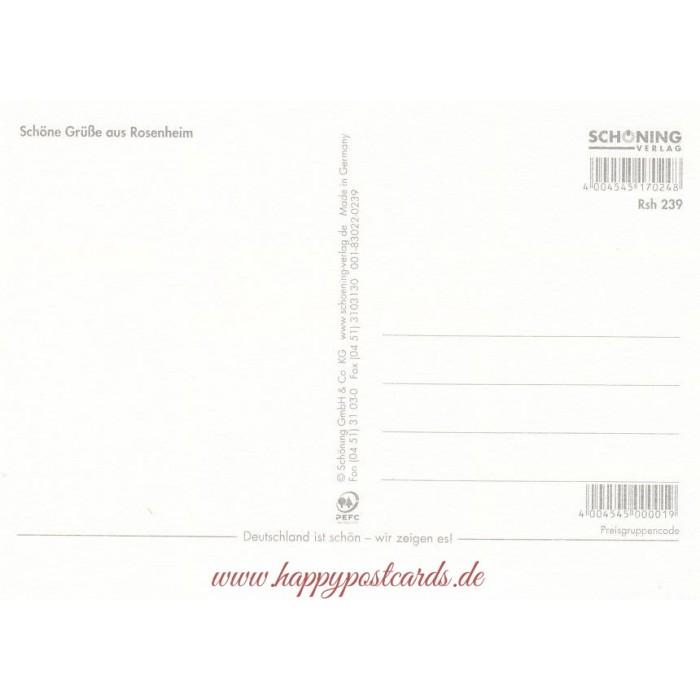 Ansichtskarten Stadte Rosenheim Ansichtskarte Schoning Verlag