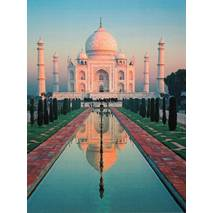 Taj Mahal - India - Aquarupella postcard