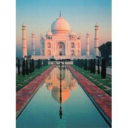 Taj Mahal - Indien - Aquarupella Postkarte