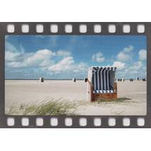 Beach chairs - DIA-Postcard