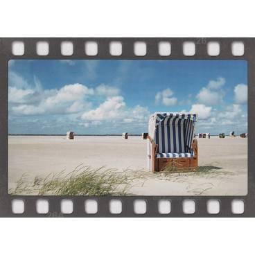Strandkörbe - DIA-Postkarte