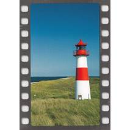 Leuchtturm - DIA-Postkarte