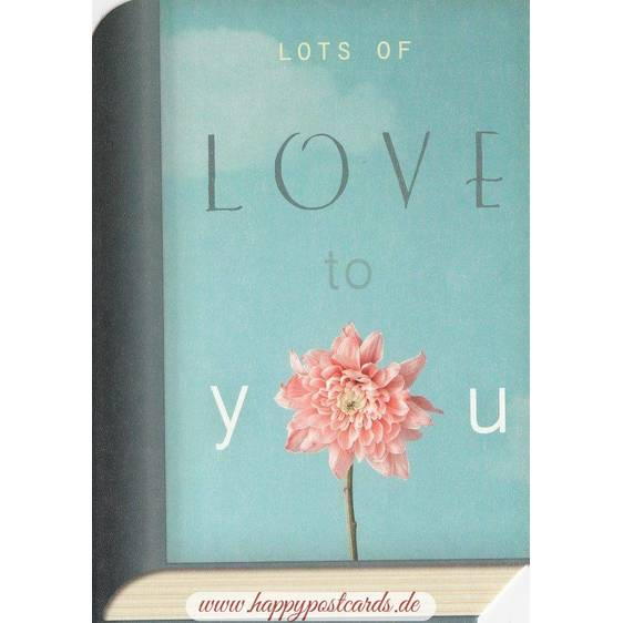 Love to you - BookCARD