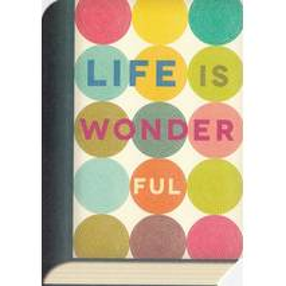 Life is wonderful - BookCARD