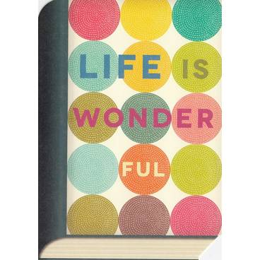Life is wonderful - BookCARD