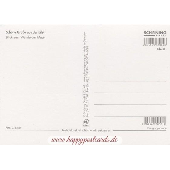 Beautiful Eifel 5 - Viewcard