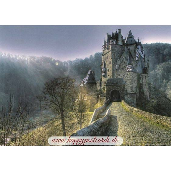 Castle Eltz - Viewcard