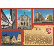 Erfurt - Chronicle - Viewcard