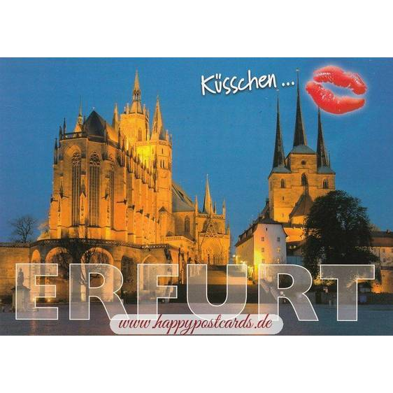 Kiss Erfurt - Viewcard